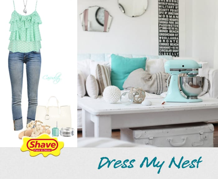 dress-my-nest BLUE