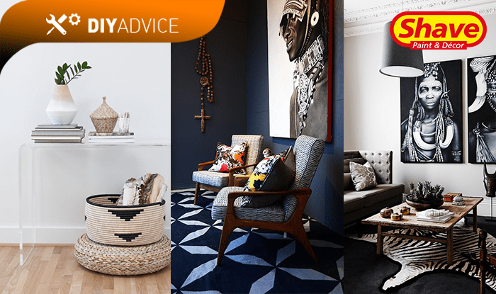 shave paint decor african inspired decorating in home