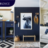 DIY Advice: Decorate in Navy