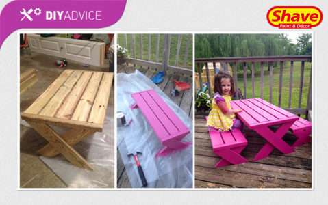 DIY Advice: Painting a bench