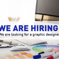 We are hiring: Graphic Designer