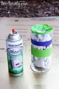 how-to-spray-paint-a-vase
