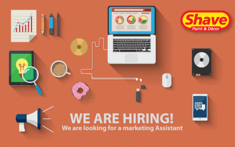 We are hiring: Marketing Assistant