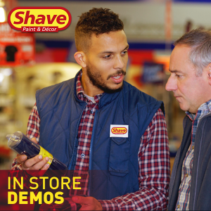 October and November FREE In-store Demos