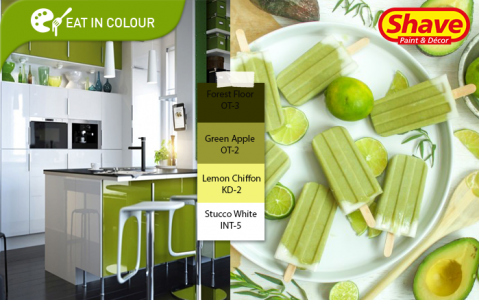 Eat In Colour – Tropical Avocado Popsicle