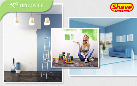 DIY Advice: Helpful tips when painting