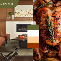 Eat in Colour – Succulent Roast Chicken