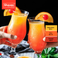 Colour Inspiration – Sunrise Mocktail Recipe