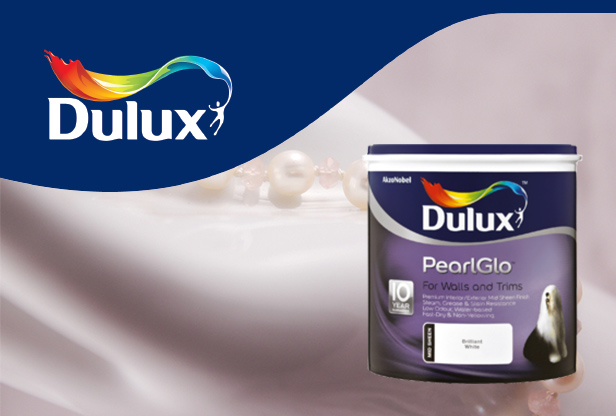 Dulux Pearlglo interior paint at Shave Paint