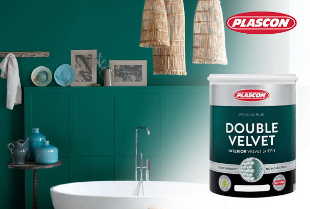 Plascon Double Velvet Interior Paint at Shave Paint and Decor