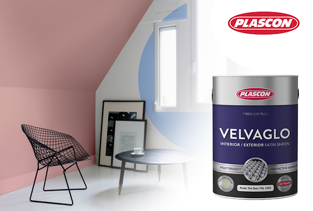 Plascon Velvaglo interior paint at Shave Paint & Decor